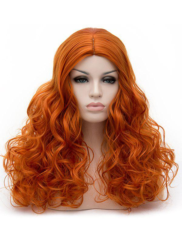 Buy Long Center Parting Curly Synthetic Party Cosplay Wig