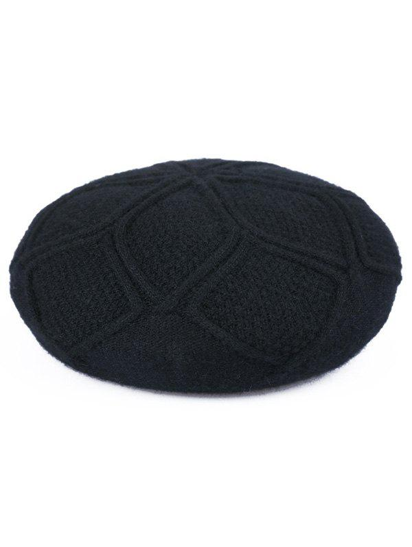 Trendy Elegant Solid Color Beret