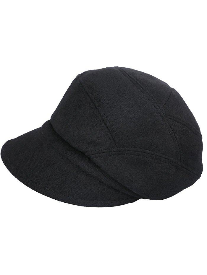 New Solid Color British Style Newsboy Cap