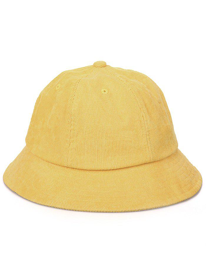 Cheap Striped Pattern Solid Color Fisherman Hat