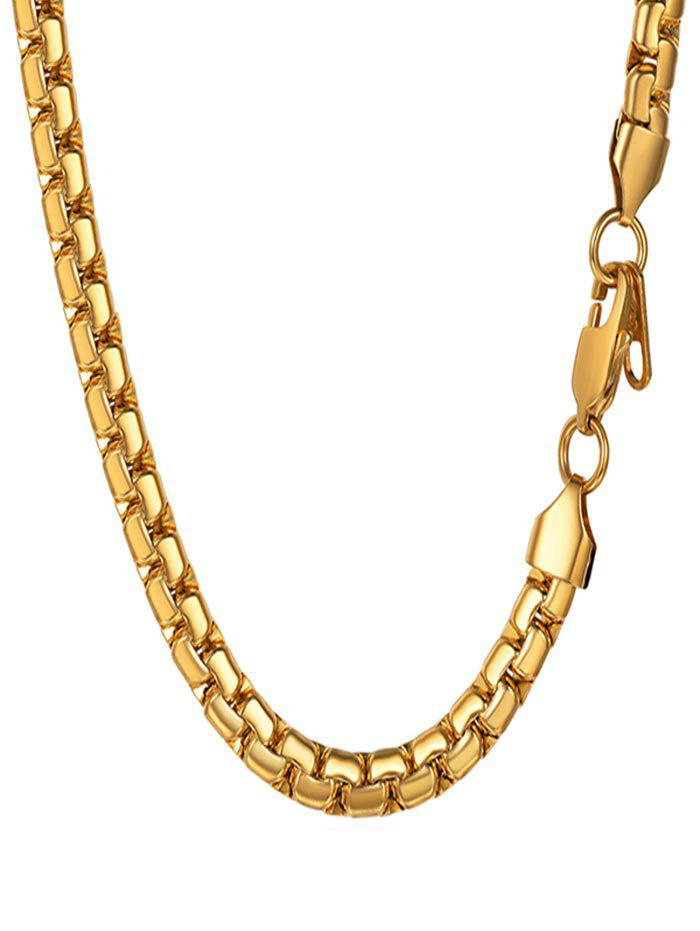 Affordable Stainless Steel Chain Necklace