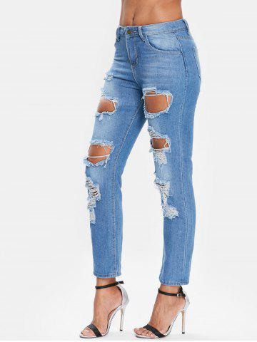 Ninth Ripped Jeans