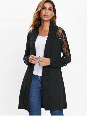 Black Lace Sweater Free Shipping Discount And Cheap Sale