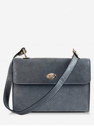 Solid Color Going Out Crossbody Bag -