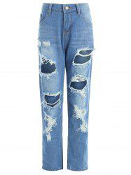 Ninth Ripped Jeans -