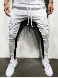 Color Block Stripe Jogger Pants -