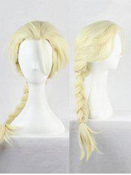 Long Braided Synthetic Anime Cosplay Wig -