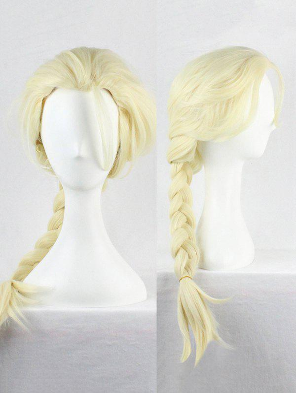 Outfits Long Braided Synthetic Anime Cosplay Wig