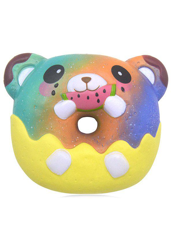 Outfit Bear Donut Slow Rising PU Squishy Toy