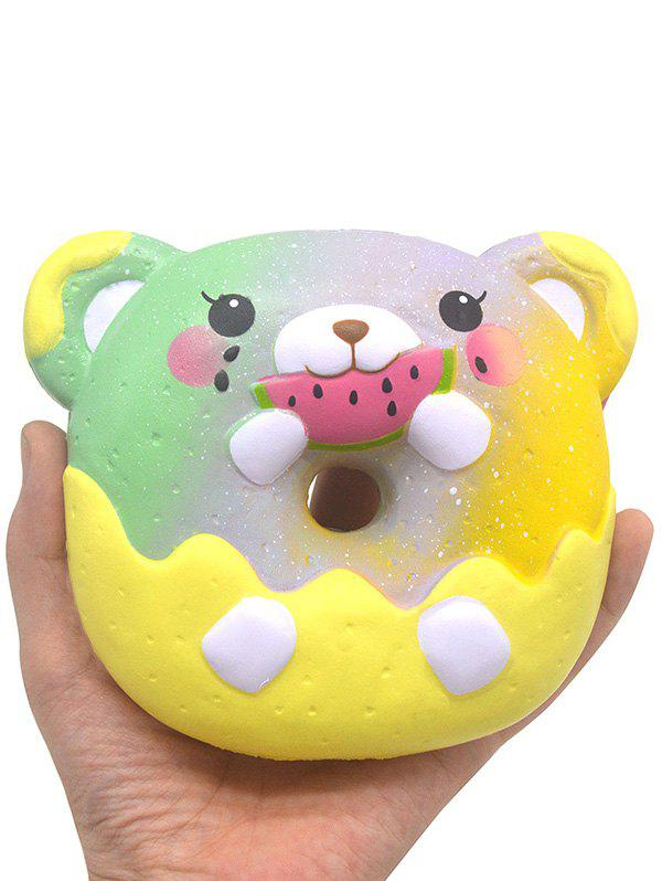 Chic Bear Donut Slow Rising PU Squishy Toy