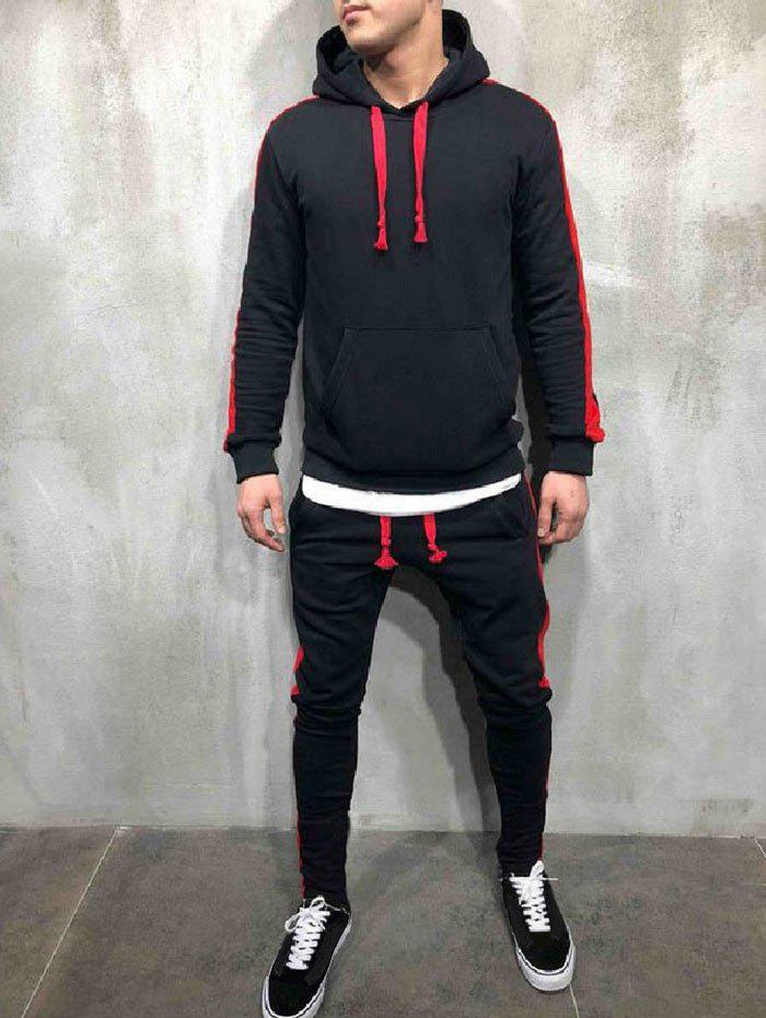 Outfit Side Stripe Hoodie Activewear Suit
