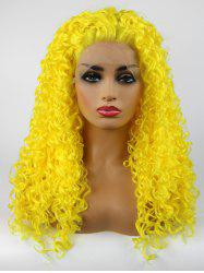 Long Free Part Curly Synthetic Lace Front Party Wig -