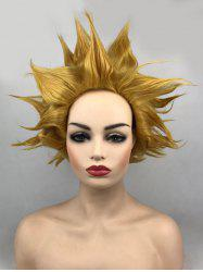 Short Tail Adduction Straight Synthetic Anime Cosplay Wig -
