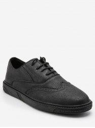 Retro Wing Tip Lace Up Work Sneakers -