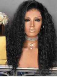 Short Side Bang Colormix Curly Party Synthetic Wig -