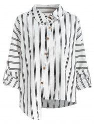 Button Up Stripe Shirt -