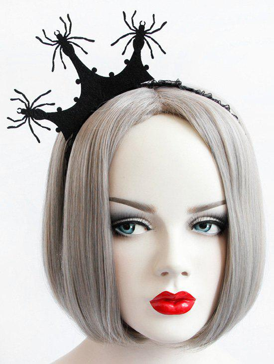 Affordable Halloween Spider Crown Hair Band