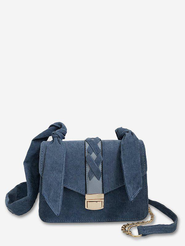 Outfit Corduroy Going Out Crossbody Bag