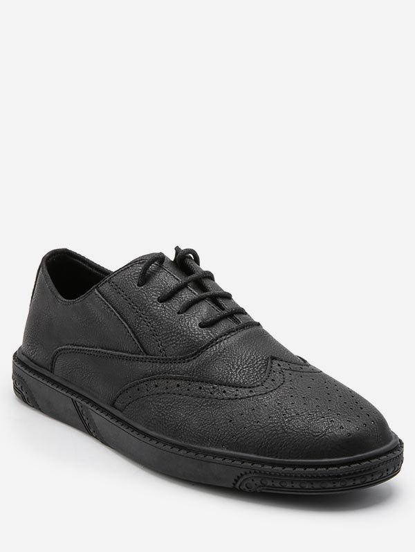 Buy Retro Wing Tip Lace Up Work Sneakers