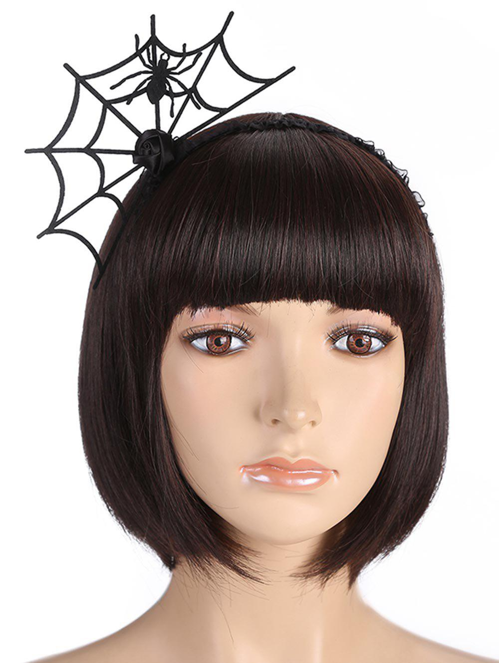 Hot Spider Web Halloween Punk Hair Hoop
