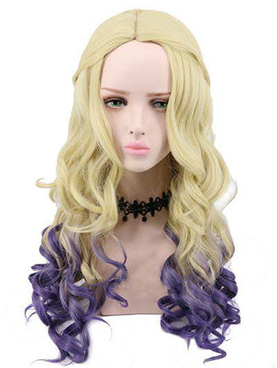 Store Long Side Parting Ombre Wavy Lolita Party Synthetic Wig