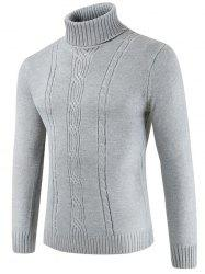 Pull col rond couleur tortue -