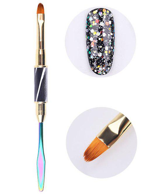 Latest Beauty Nail Art Tool Double-ended Liner Brush Spatula