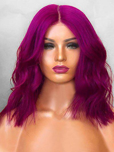 Latest Medium Center Parting Natural Wavy Cosplay Synthetic Wig