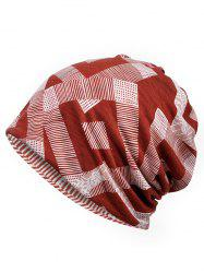Lightweight Geometry Pattern Beanie -