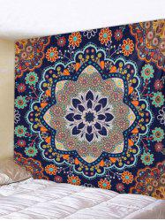 Wall Hanging Art Mandala Flowers Print Tapestry -