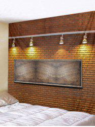 Brick Wall Lamp Printed Tapestry Art Decor -