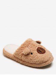 Lovely Piggy Fuzzy Slippers -