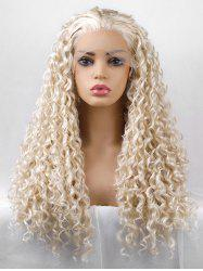 Long Free Part Curly Party Lace Front Synthetic Wig -