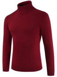 Pull col rond en tortue -