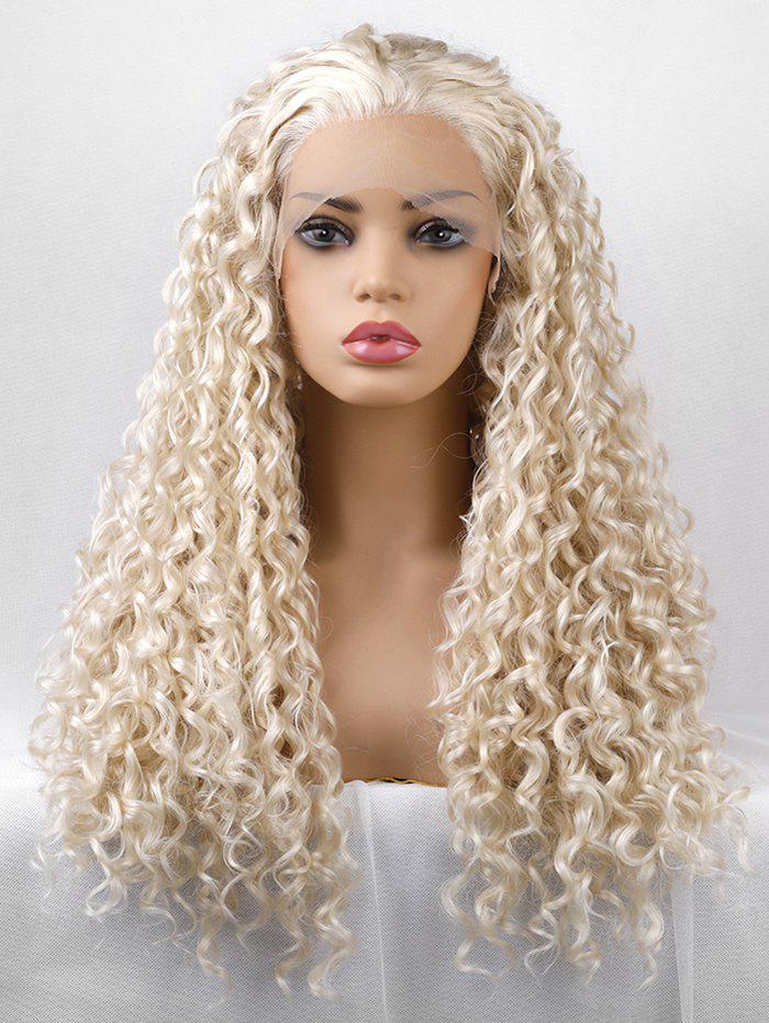 Fashion Long Free Part Curly Party Lace Front Synthetic Wig