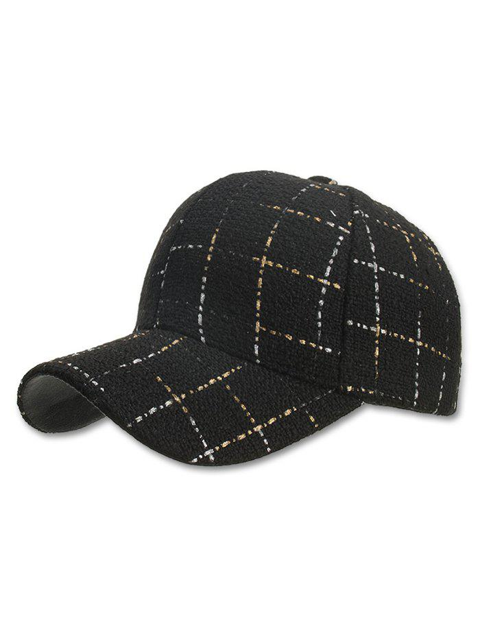 New Plaid Adjustable Snapback Hat