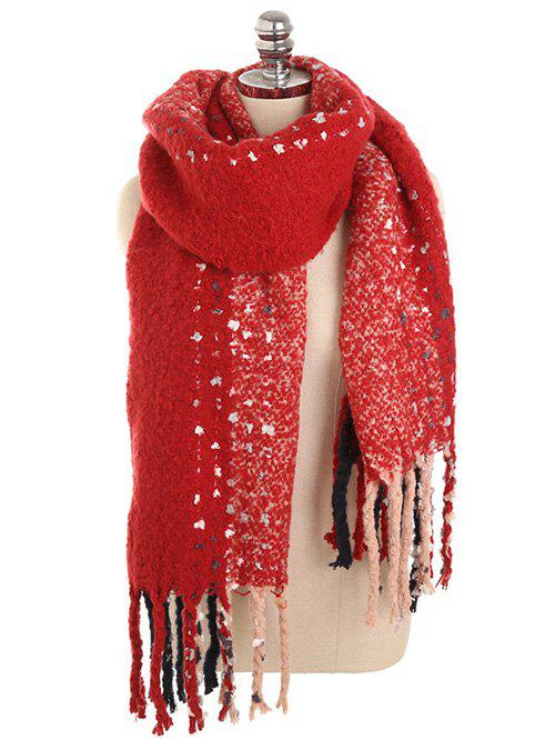 Affordable Soft Long Fringed Winter Shawl Scarf
