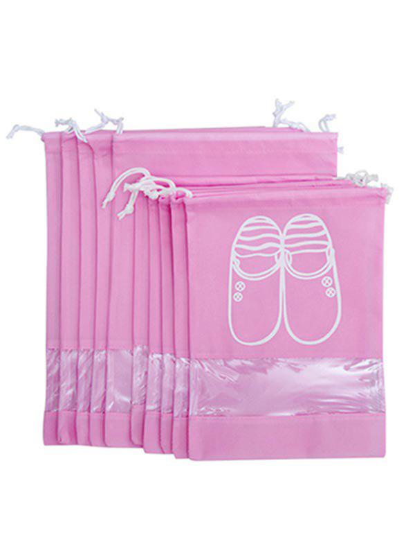Buy 10 Pcs Drawstring Travel Shoes Storage Bag
