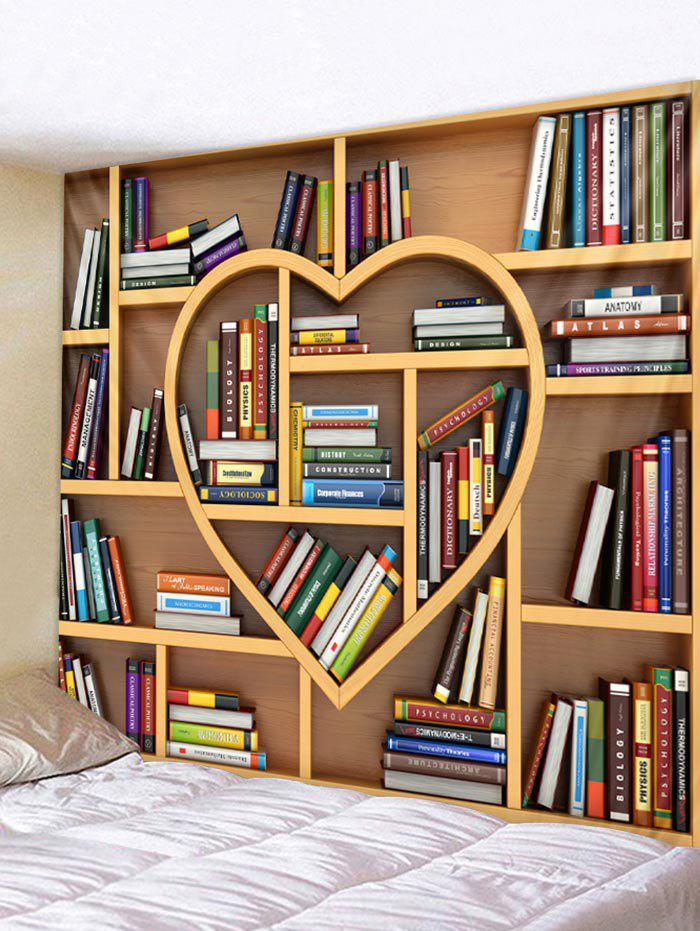 Outfit Heart Bookrack Print Wall Tapestry Art Decoration