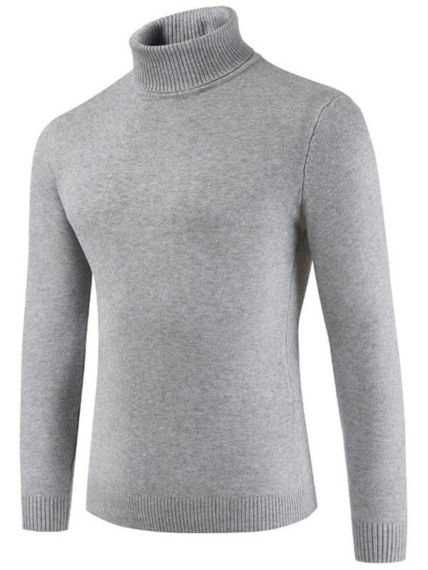 Shop Turtle Neck Whole Color Sweater