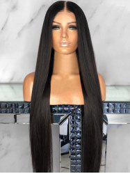 Long Middle Part Capless Straight Synthetic Wig -
