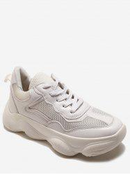 Sneakers Athlétique Chunky Lace Up -