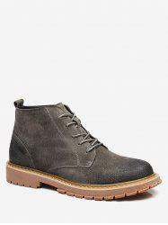 Mid Top Lace Up Boots -