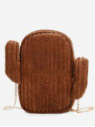 Cactus Metal Chain Crossbody Bag -