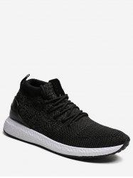 High Top Canvas Running Sneakers -