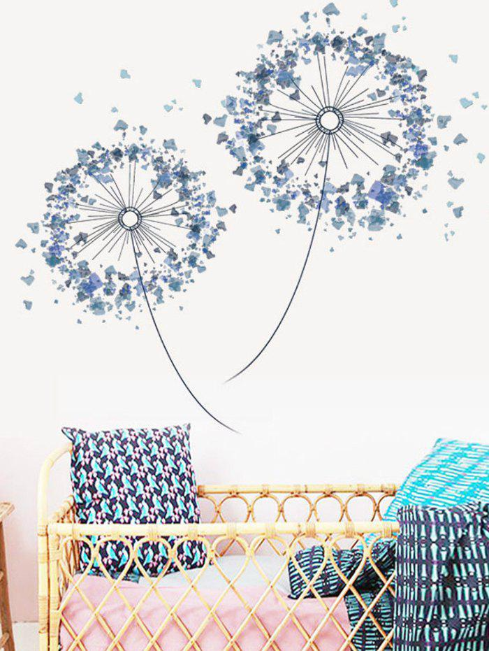 Outfits Double Dandelion Print Removable Wall Art Stickers