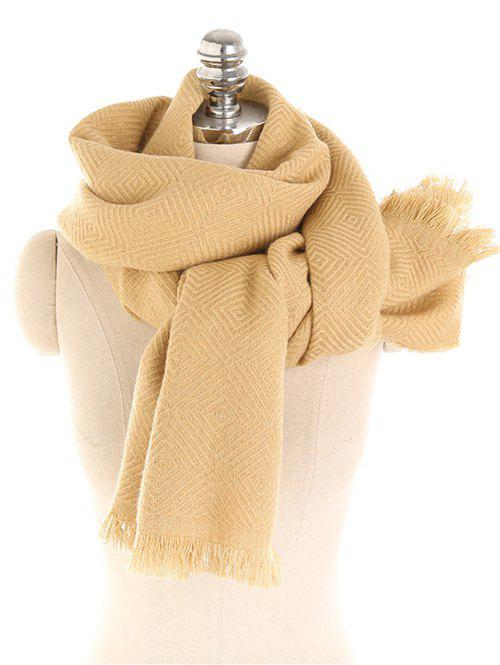 New Vintage Solid Color Thicken Warm Scarf