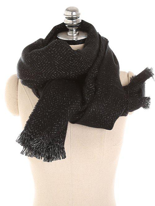 Cheap Vintage Solid Color Thicken Warm Scarf