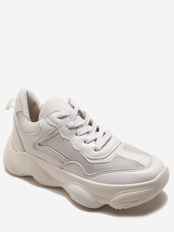 Sneakers Athlétique Chunky Lace Up
