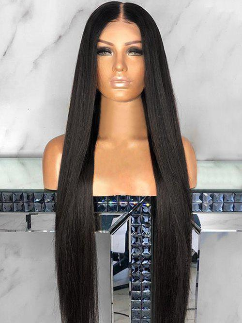 Affordable Long Middle Part Capless Straight Synthetic Wig